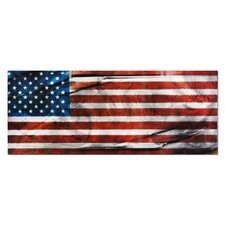 American Glory Graphic Art Plaque