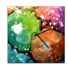 "<strong>Metal Art Studio</strong> 22"" Radioactive Wall Clock"