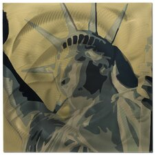 Statue of Liberty Painting Print Plaque
