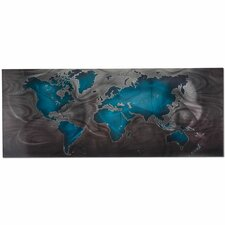 Land and Sea Graphic Art Plaque