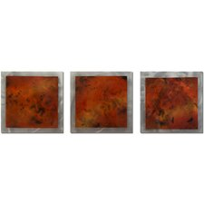 Essence Molten 3 Piece Graphic Art Plaque Set