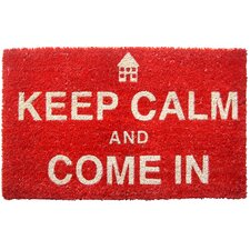Sweet Home Keep Calm Doormat