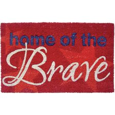 Home of the Brave Doormat