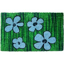 Sweet Home Floral Doormat