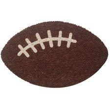 Sweet Home Football Doormat