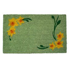 Sweet Home Daffodil Corners Doormat