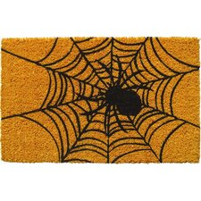 Sweet Home Spider Web Doormat