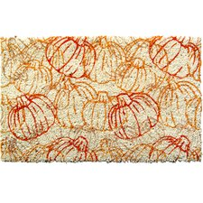 Sweet Home Pumpkin Pattern Doormat