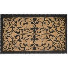 Handwoven Extra Thick Iron Grate Coconut Fiber Doormat