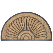 Bootscraper - Recycled Rubber and Coir Shell Doormat