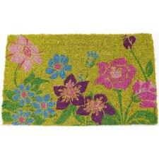 Handmade Wildflower Power Doormat