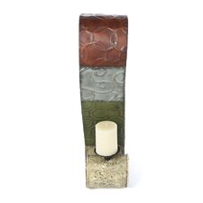 Patchwork Metal Wall Sconce