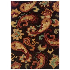 Bombay Brown Palme Rug