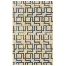Bombay Ivory Channel Rug