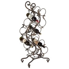 Scroll 12 Bottle Wine Rack