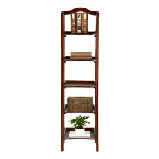 <strong>Bombay Heritage</strong> Exford 5 Tier Shelf Etagere Bookcase