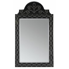Camilla Crowned Nailhead Mirror