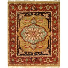 <strong>Wildon Home ®</strong> Gold / Rust Rug