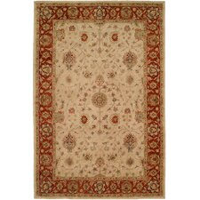 <strong>Wildon Home ®</strong> Ivory / Red Rug