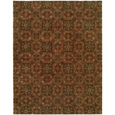 Newport Mansions Rust Chateau Rug