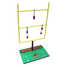 NCAA Double Football Toss Game Set