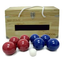 Crated Bocce Set
