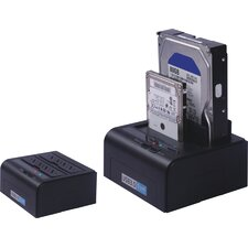 "USB 3.0 HDD HOLDER, W/Power, Supports SATA 3.5"" & 2.5"" HDD, One touch back up"