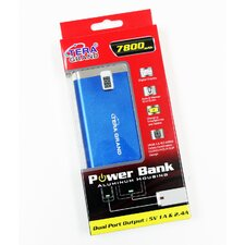 5V Dual USB Power Bank Battery Backup Charger