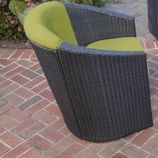 Riviera Barrel Accent Deep Seating Chair