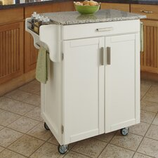 <strong>Home Styles</strong> Kitchen Cart with Granite Top