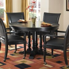 St. Croix 5 Piece Reversible Poker Table Set