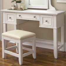 <strong>Home Styles</strong> Naples Vanity with Mirror