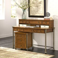 Orleans Executive Desk with Hutch