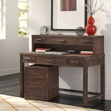 Barnside Executive Desk with Hutch