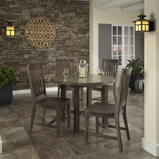 Concrete Chic 5 Piece Dining Set