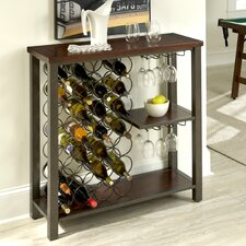 Cabin Creek 28 Bottle Wine Rack