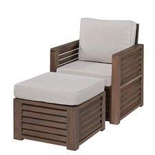 Barnside Arm Chair and Ottoman