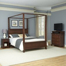Chesapeake Canopy 3 Piece Bedroom Collection