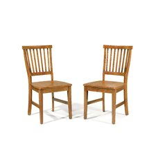 Arts and Crafts Dining Chair (Set of 2)