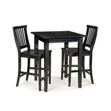 <strong>Home Styles</strong> Arts and Crafts Counter Height Pub Table