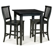 <strong>Home Styles</strong> Arts and Crafts Pub Table with Optional Stools
