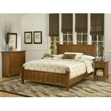 Arts and Crafts Panel 3 Piece Bedroom Collection