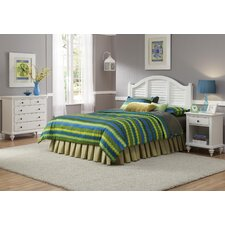 <strong>Home Styles</strong> Bermuda Queen Headboard, Nightstand, and Chest