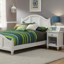 <strong>Home Styles</strong> Bermuda Queen Bed and Nightstand