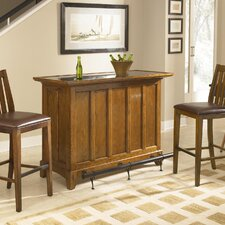 Arts & Craft 3 Piece Home Bar