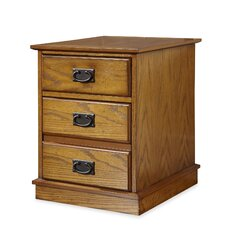 Modern Craftsman 3-Drawer Mobile File