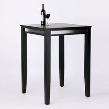 <strong>Home Styles</strong> Manhattan Pub Table in Black