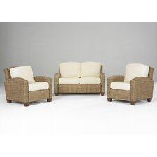 <strong>Home Styles</strong> Cabana Banana 2 Chairs and Loveseat