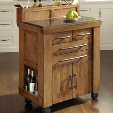 <strong>Home Styles</strong> Vintage Gourmet Kitchen Cart