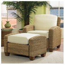 Cabana Banana Cotton Armchair and Ottoman